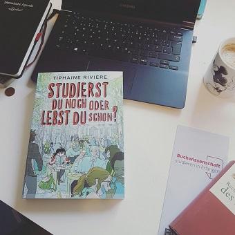 Rezension – Studierst du noch oder lebst du schon? – Tiphaine Rivière