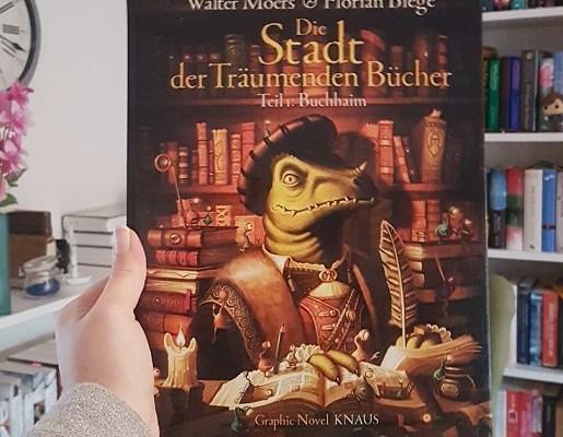 Rezension – Die Stadt der träumenden Bücher (Graphic Novel) – Walter Moers / Florian Biege
