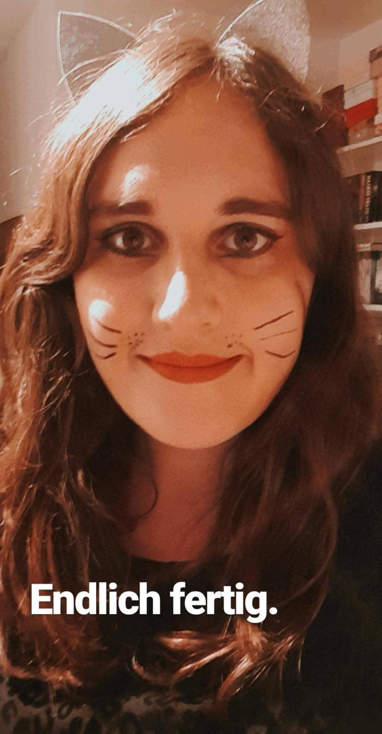 Halloween Katze