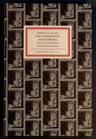 Honoré de Balzac - Das unbekannte Meisterwerk mit Illustrationen von Pablo Picasso IB Nr. 1031