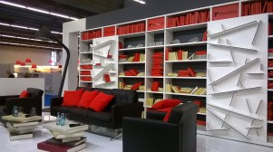 Paschen Bibliothek als Lesungsort