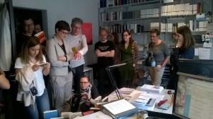 Literaturblogger #eintagbeisuhrkamp (c) glasperlenspiel13