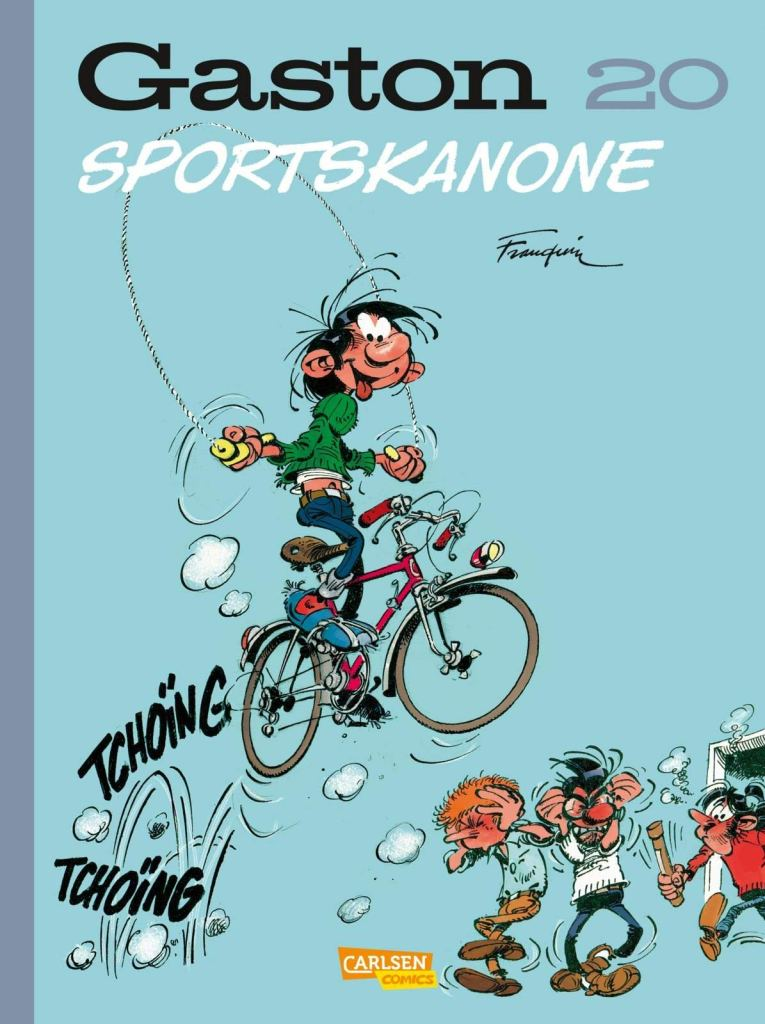 Comic: Gaston, Sportskanone