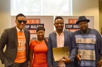 "Anselmo Ralph, Yannick Afroman, Matias Damasio & Noite e Dia - Hino ""Stop Malária"" (2017)"