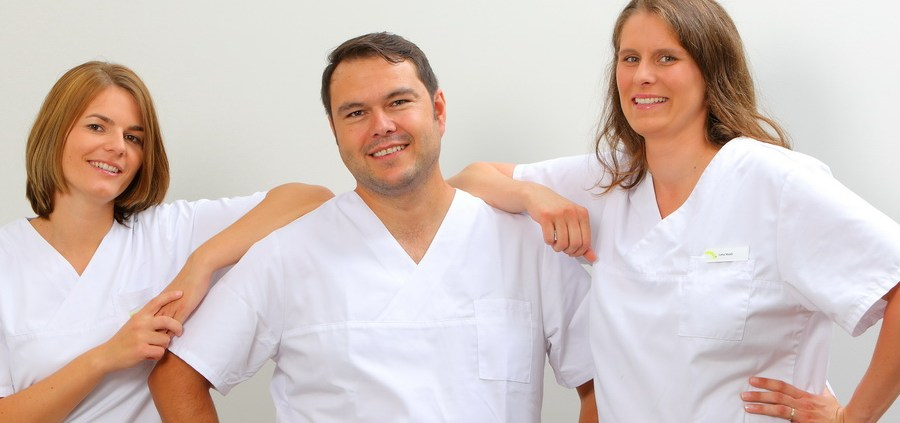 Dr. Katharina Martin, Hans-Martin Karcher, Lena Maas