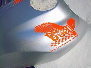 Buell ペガサス オリジナル タンクデカール