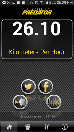 Break Speed App por Predator