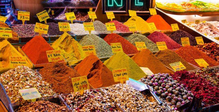 El Bazar de las Especias, fiesta de aromas de Estambul