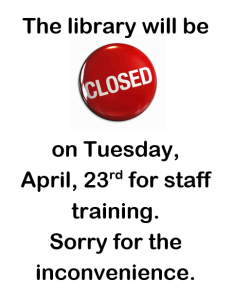 Library CLOSED for staff training @ Buena Vista Public Library | Buena Vista | Colorado | United States