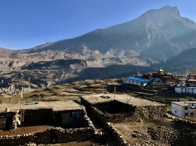 Sunrise over Muktinath