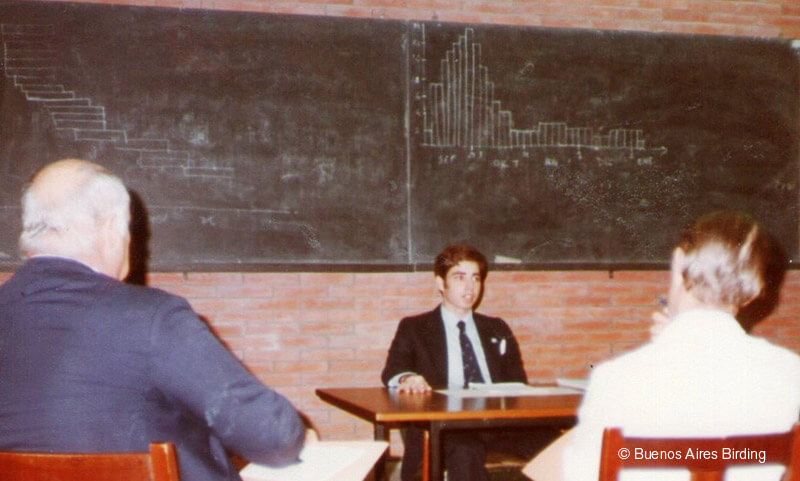 University of Buenos Aires in 1984.