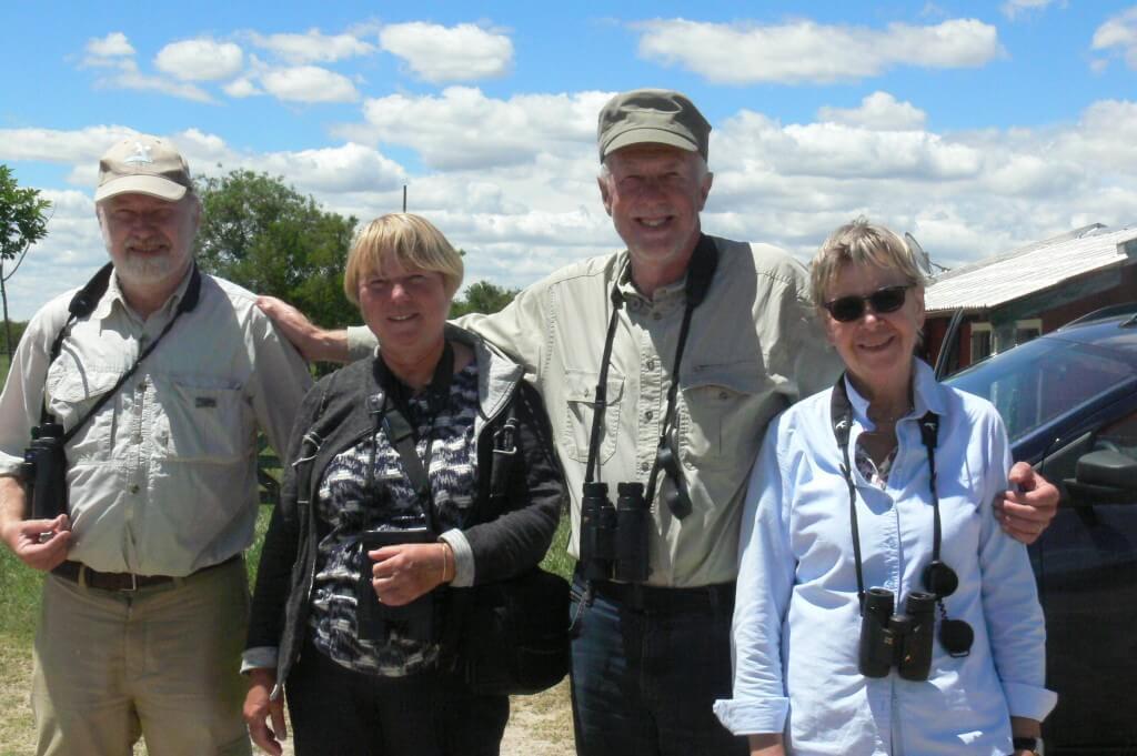 Birding in family at Ceibas, November 2017.