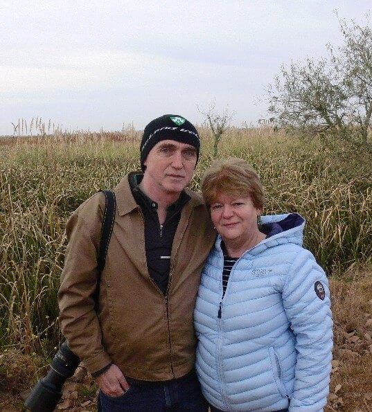 Eugene and Sheena from Ireland, June 2016 at Otamendi.