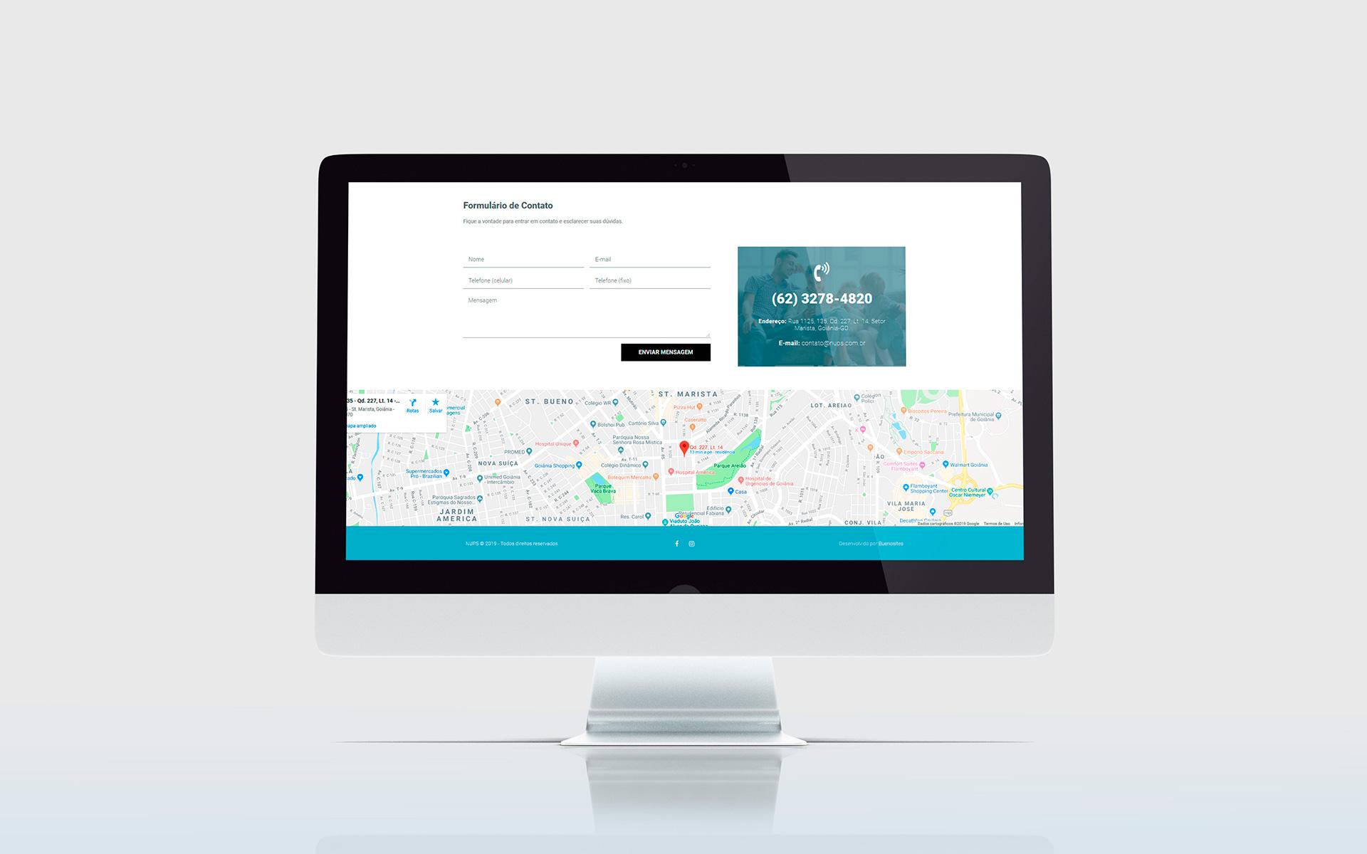 nups - criação de sites - Buenosites
