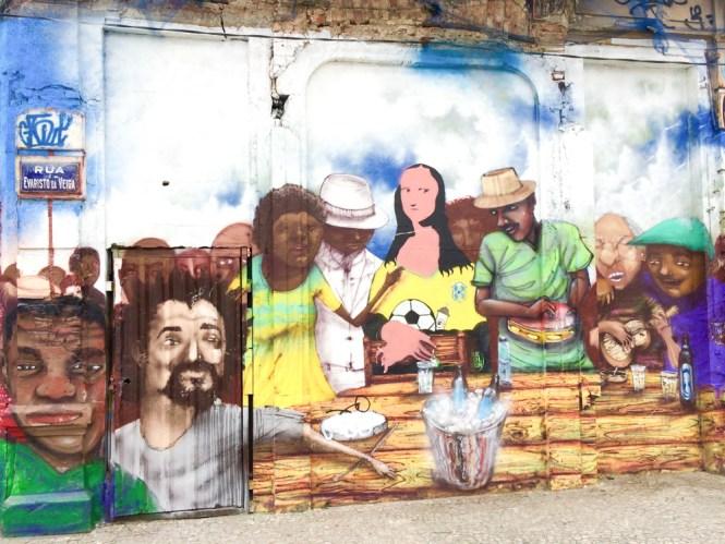Rio de Janeiro Street Art de Lapa