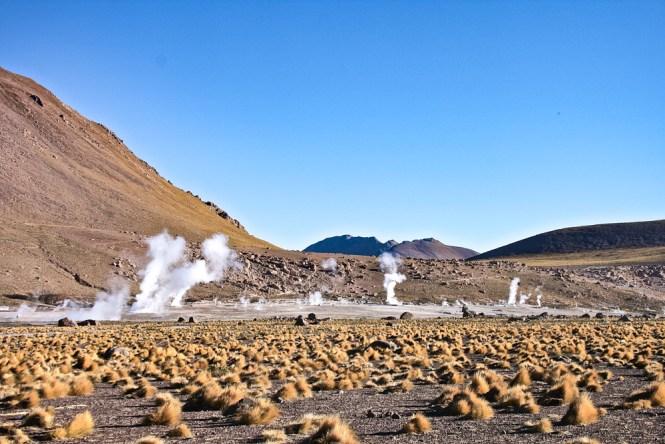 San Pedro de Atacama Geysers El Tatio