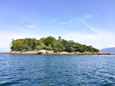 Ilha Grande Lagoa Azul bresil