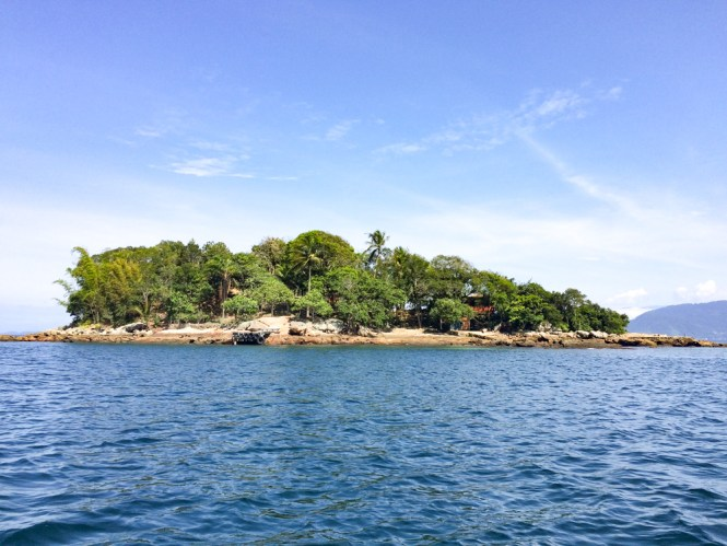 Ilha Grande Lagoa Azul Lagoa verde
