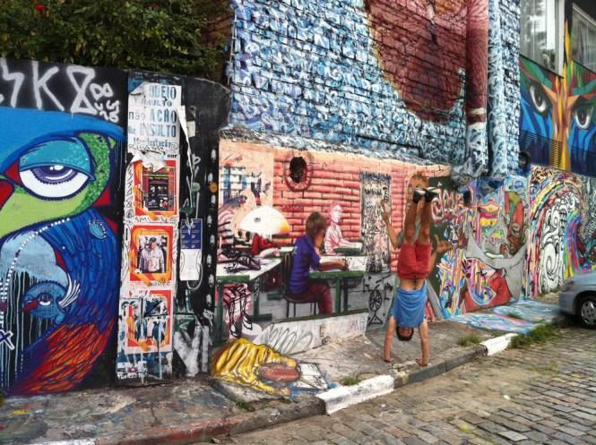 Que voir Sao paulo au brésil - street art alex