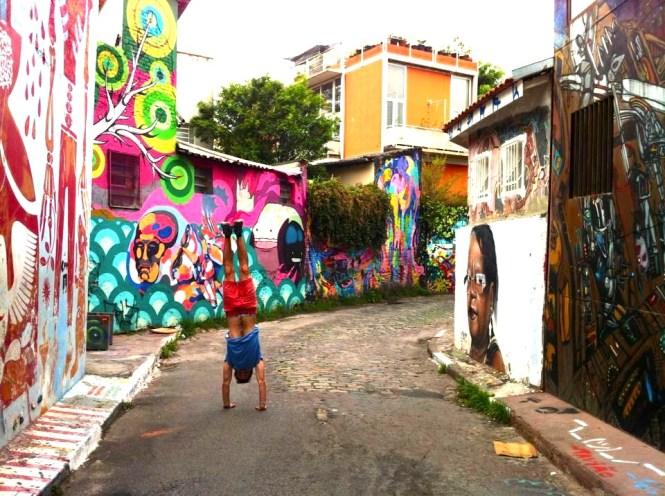 Beco do batman Street Art Sao Paulo