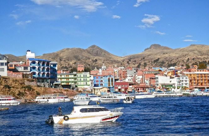 Copacabana sur le Lac Titicaca