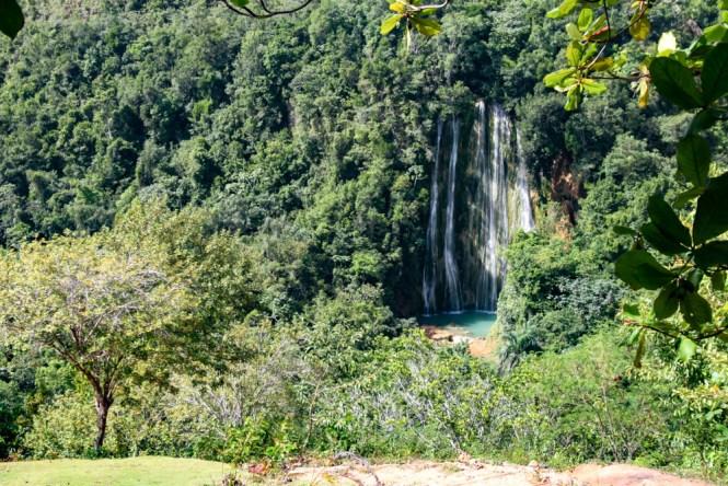 cascade Salto del Limon visiter las terrenas republique dominicaine
