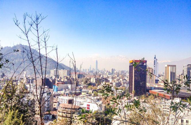 Santiago du Chili cerro SanCristobal