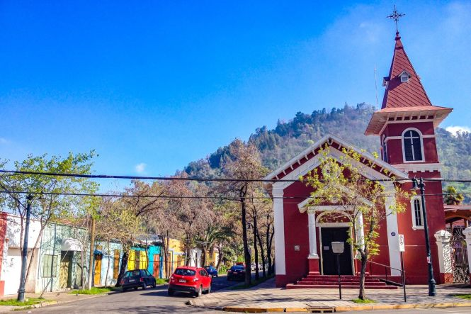 visiter Santiago du chili Barrio Bellavista
