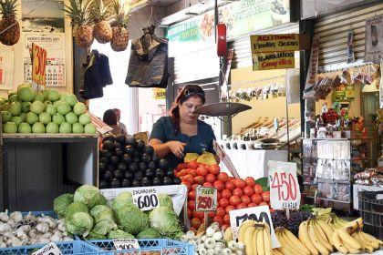 visiter Santiago du chili fruits Mercado central