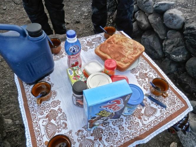Petit Dejeuner Salar d'Uyuni