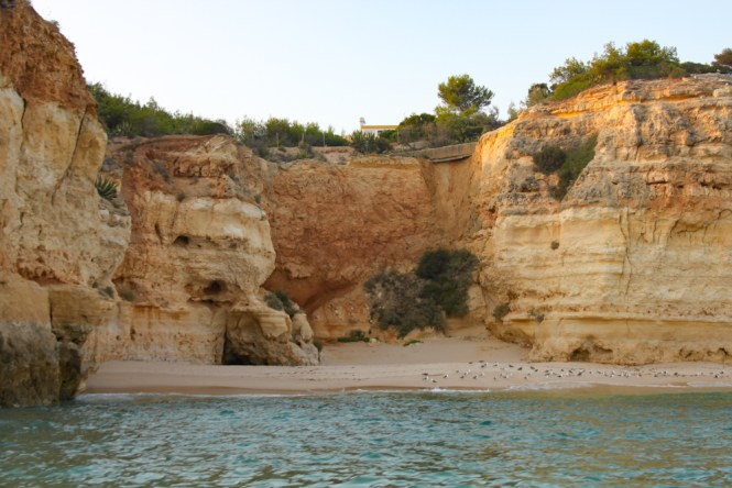 Excursion grottes d'Algarve