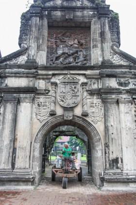 VISITER Manille aux philippines le fort de santiago