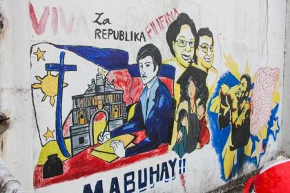 VISITER Manille Centre ville Street Art