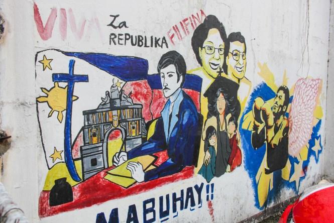 Manille Centre ville Street Art