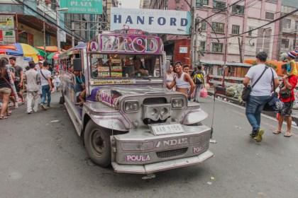 Manille Chinatown Jeepney