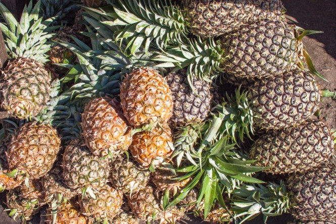 Fruits aux philippines ananas