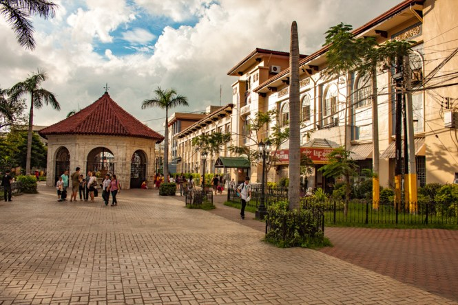 Cebu aux philippines place principale