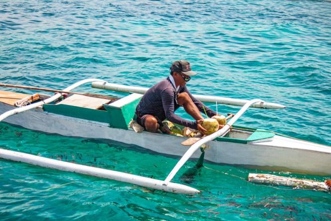 Cebu vendeur de cocos