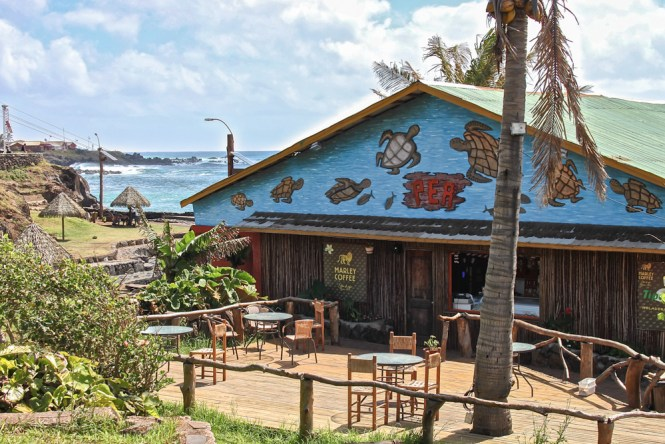 Hanga roa restaurant visiter Île de Pâques