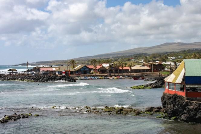 port Hanga roa visiter Île de Pâques