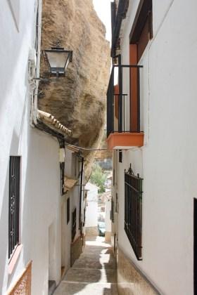 Ruelle Setenil de las Bodegas andalousie