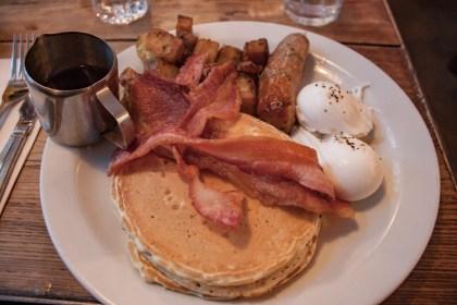 Brunch Breakfast club Un week end a Londres