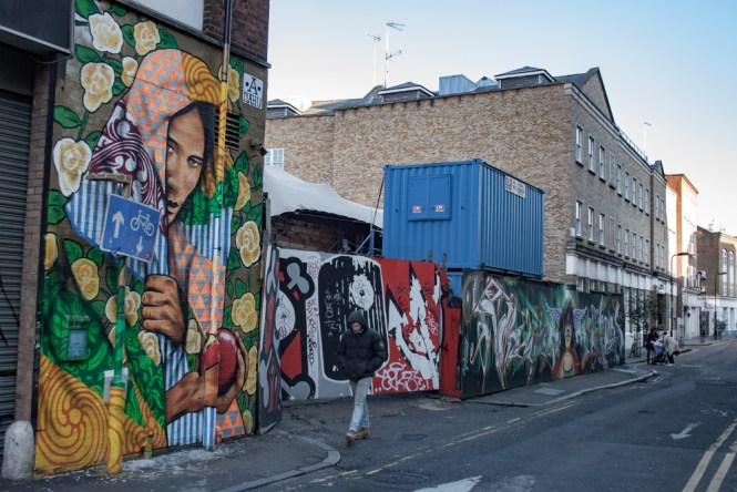 Street Art Shoreditch Un week end a Londres