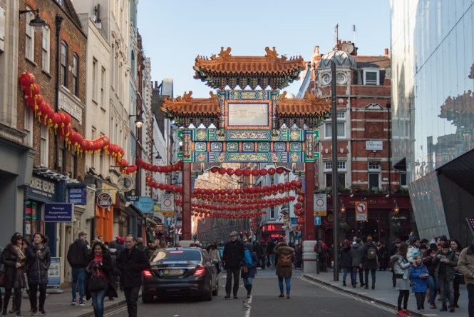 ChinaTown Un week end a Londres