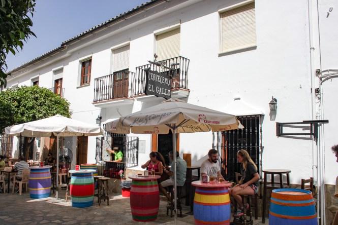 bar Zahara de la Sierra Andalousie espagne