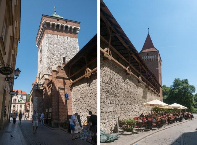 Visiter-cracovie-La-Barbacane-fortification