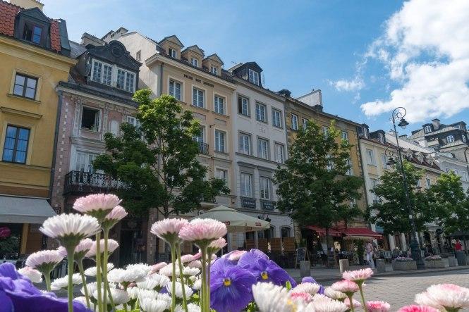 Visiter Varsovie centre ville