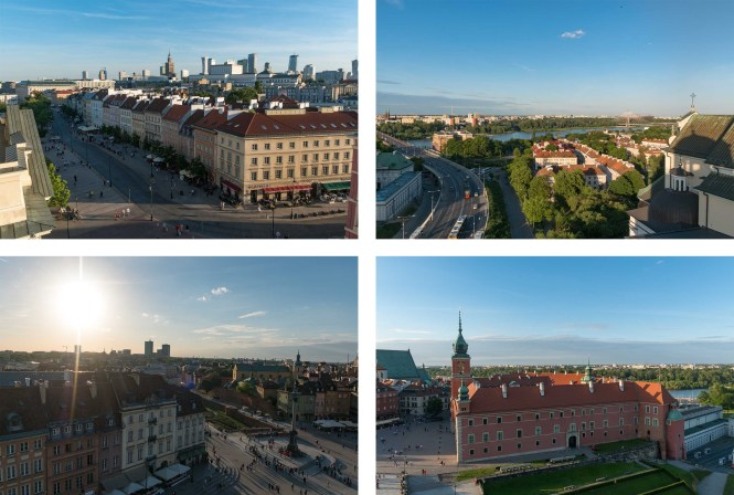 Visiter Varsovie vue TARAS WIDOKOWY