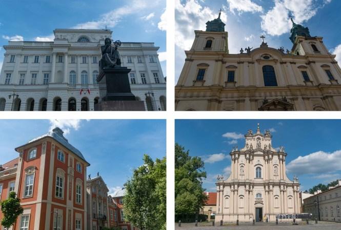 Visiter Varsovie monuments