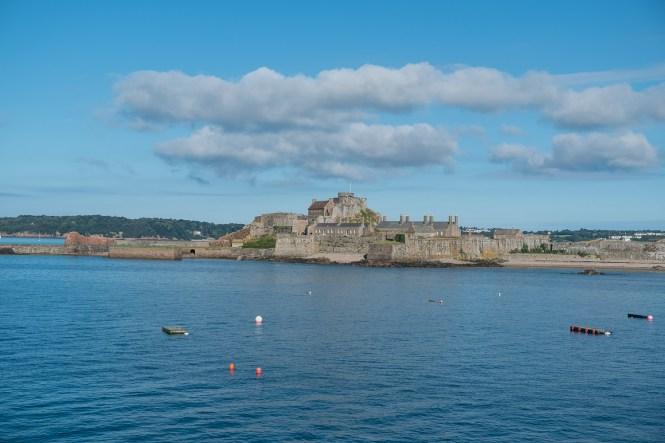 Elizabeth Castle visiter Jersey